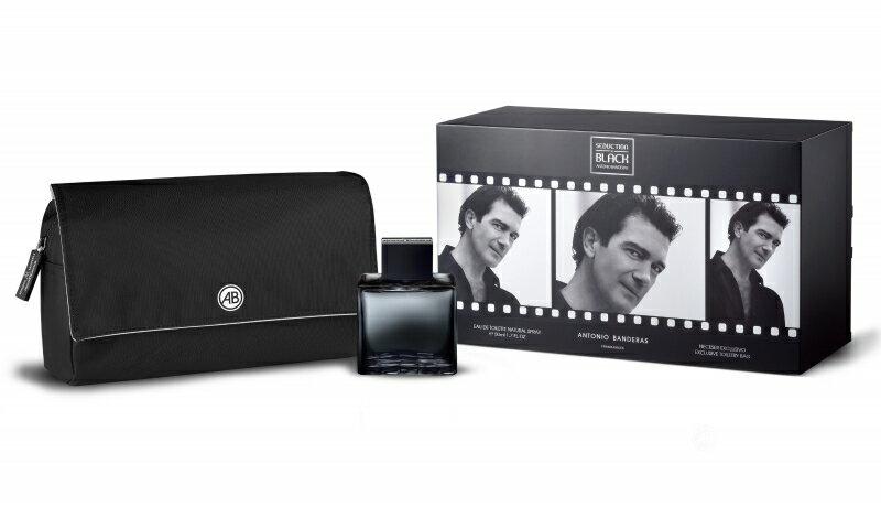Antonio Banderas Seduction in Black EDT 50 ml + Neceser 0
