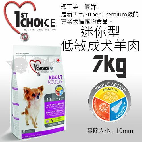 《瑪丁-第一優鮮》迷你型犬低敏成犬羊肉 7KG