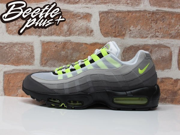 BEETLE PLUS NIKE AIR MAX 95 NEON OG 氣墊 反光 螢光綠 男鞋 慢跑鞋 木村拓哉 554970-071 0