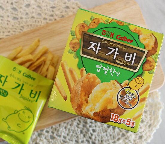 韓國零食 海太 Calbee Jagabee 薯條先生