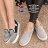 ★399免運★格子舖*【AA035】基本款百搭海軍風條紋 舒適3CM厚底增高帆布鞋 懶人鞋 4色 - 限時優惠好康折扣