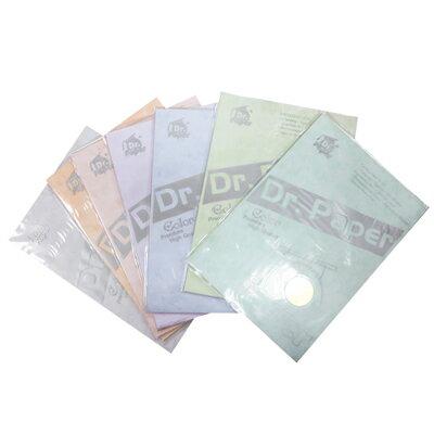 Dr.Paper A4 200gsm藝術封面卡紙 夢竹系列-10色 10入/包
