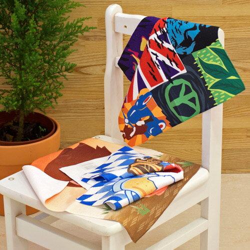 【客製化】33x33cm基本款全彩昇華熱轉印方巾(雙面印刷) A90-51100-098