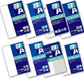 Double A A5/25K 膠裝筆記本-簡單系列(4款)/本