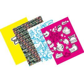 Cubbish A6膠裝左開筆記本-空白(4款) /本
