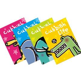 Cubbish A5膠裝左開筆記本-星星動物園系列 橫線(4款) /本