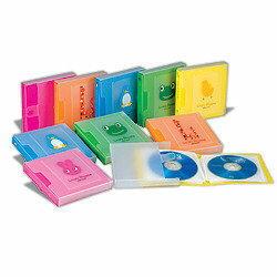 【清倉超低價販售】1個只要25元 卡通12片CD收藏盒 隨機出色 SCD12 HFPWP