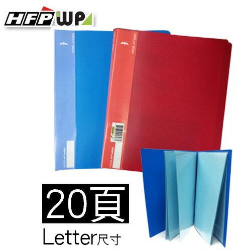 2.5折10本量販 20頁資料簿Letter尺寸^(非A4^) UF20~10 ~  好康