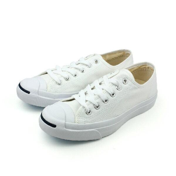 CONVERSE Jack Purcell 帆布鞋 白 男女款 no073