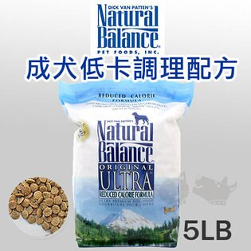 《Natural Balance 天然寵物食糧》特級低卡路里配方狗糧 - 5磅 / 狗飼料