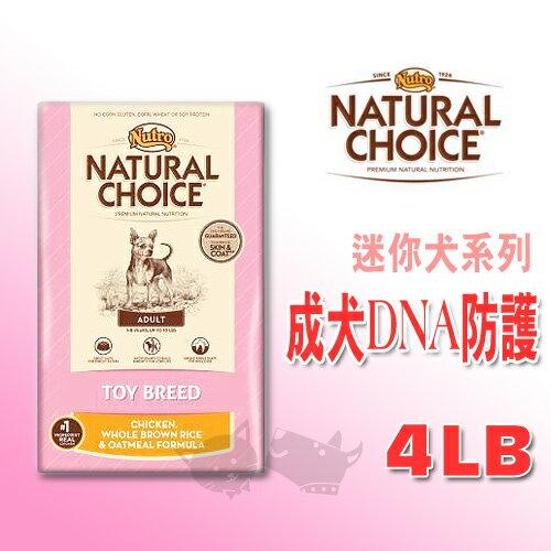《CHOICE美士》迷你犬系列 - 成犬DNA防護配方(雞肉+糙米) 4LB / 狗飼料