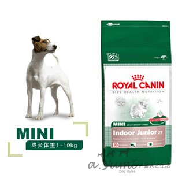 ROYAL CANIN皇家-PRIJ 27 小型室內幼犬 4kg