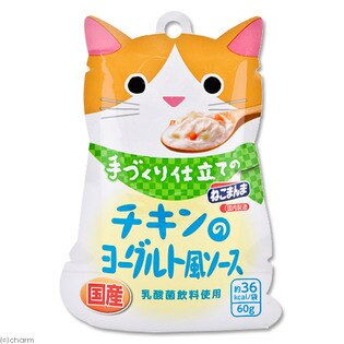 日本進口妮可媽媽 貓手作料理主食60g-雞肉優格風煲湯/貓咪主食餐包
