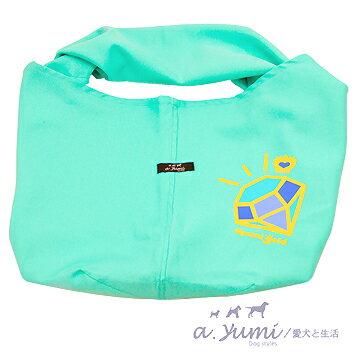 Ayumi寵物背巾-時尚style袋鼠媽媽袋-鑽石款