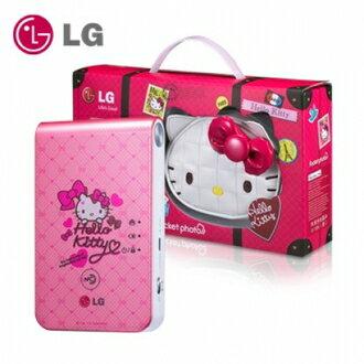 【集雅社】《獨家贈送原廠相紙》LG Pocket photo 3.0 第三代口袋相印機 PD239SP KITTY 粉亮精裝版 公司貨 免運費