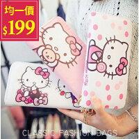 凱蒂貓週邊商品推薦到Kitty長夾-超可愛卡通 Hello Kitty萬用大容量一代手拿長夾【AN SHOP】