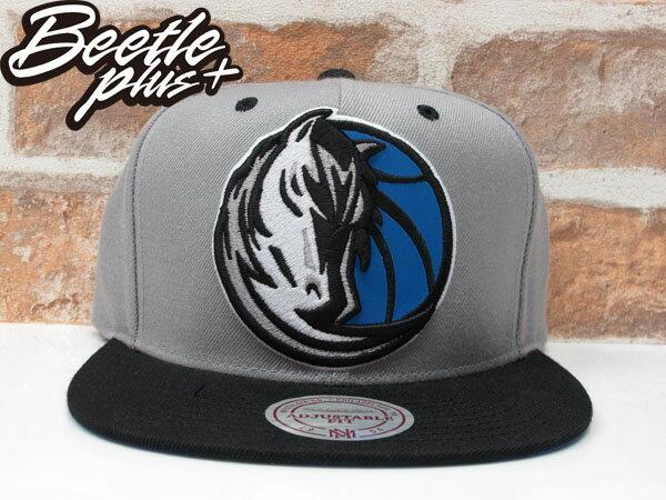 BEETLE PLUS MITCHELL&NESS NBA 美國職籃 德州 達拉斯 小牛 MAVERICKS LOGO 3M 反光 SNAPBACK 帽 後扣 棒球帽 DIRK NOWITZKI