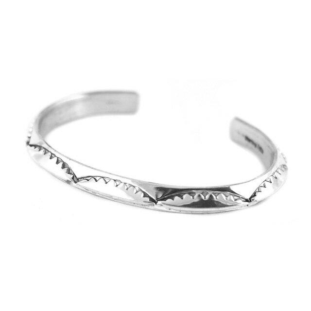 【現貨商品】【Indian Jewelry】印地安圖騰三角形手鐲(花紋隨機出貨)(Navajo-040) 6