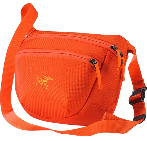 【鄉野情戶外專業】 ARCTERYX 始祖鳥  加拿大  MAKA 2 腰包/隨身包 旅行包 護照包 側背包-鳳凰橘/17172 【容量3L】