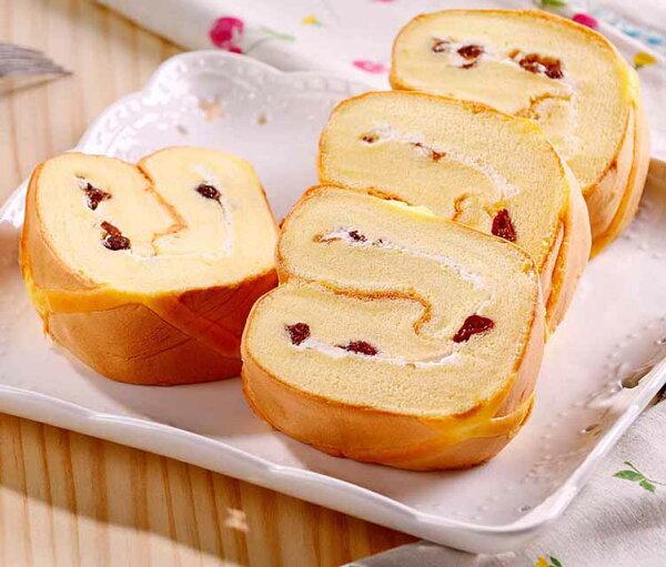 蘭姆葡萄蛋糕捲
