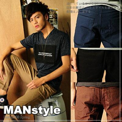 ManStyle【A1G0252】時尚必備單品工作長褲5色 羅志祥