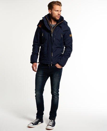 [男款]英國名品代購 極度乾燥 Superdry Arctic Wind Attacke 男士防水防風戶外休閒外套夾克風衣 深藍 1