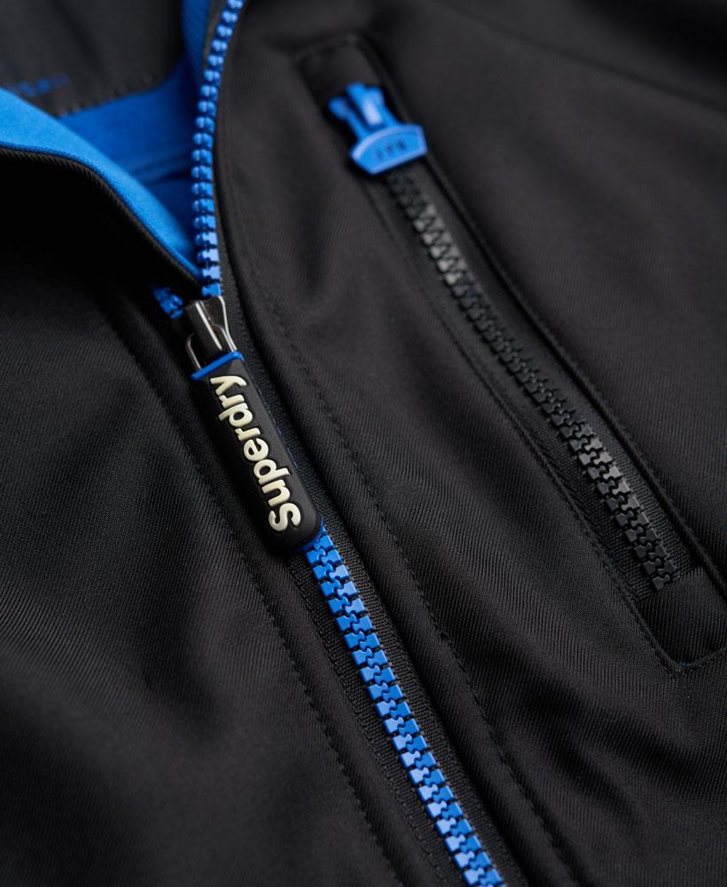 英國名品 代購 極度乾燥 Superdry Windtrekker 男士風衣戶外休閒外套 防水 黑色/寶藍色 3