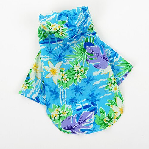 ~小樂寵~熱帶風情夏日沙灘連帽花襯衫 ~  好康折扣