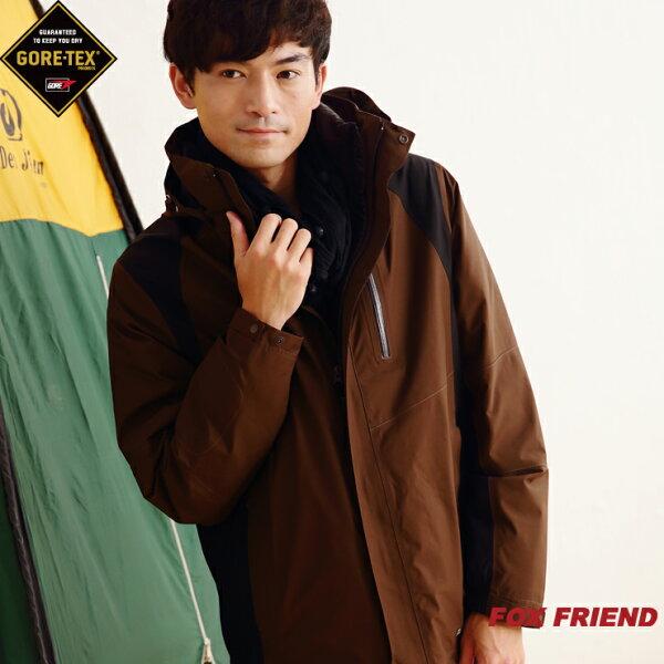 Fox Friend☆橋登[1101]Gore-Tex Performance Shell男款二件式外套+羽絨