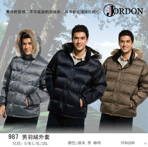 ☆Jordon☆橋登[987]男用羽絨外套