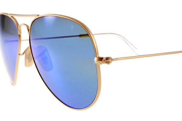 Ray Ban 雷朋 水銀鍍膜金邊藍鏡 太陽眼鏡 RB3025 5