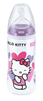『121婦嬰用品館』NUK  Hello Kitty  寬口徑PP奶瓶300ml(1號中圓洞) 2
