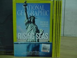 【書寶二手書T1/雜誌期刊_RFP】國家地理_2013/2~9月間_共6本合售_Rising seas