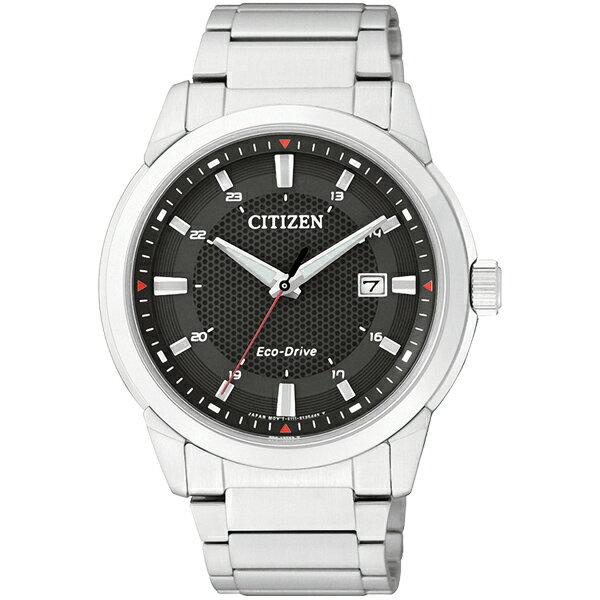 CITIZEN星辰BM7141-51E都會光動能腕錶/黑面41mm