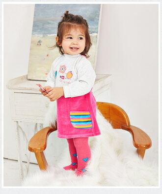 ☆Babybol☆女童冬裝保暖兩件套, 套裝包含(上衣,褲襪)【24101】 1