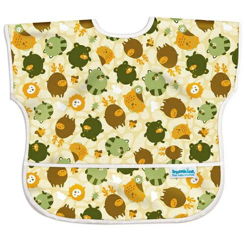 美國【Bumkins】兒童短袖防水圍兜 - 森林朋友 BKU-898 (1-3歲) - 限時優惠好康折扣
