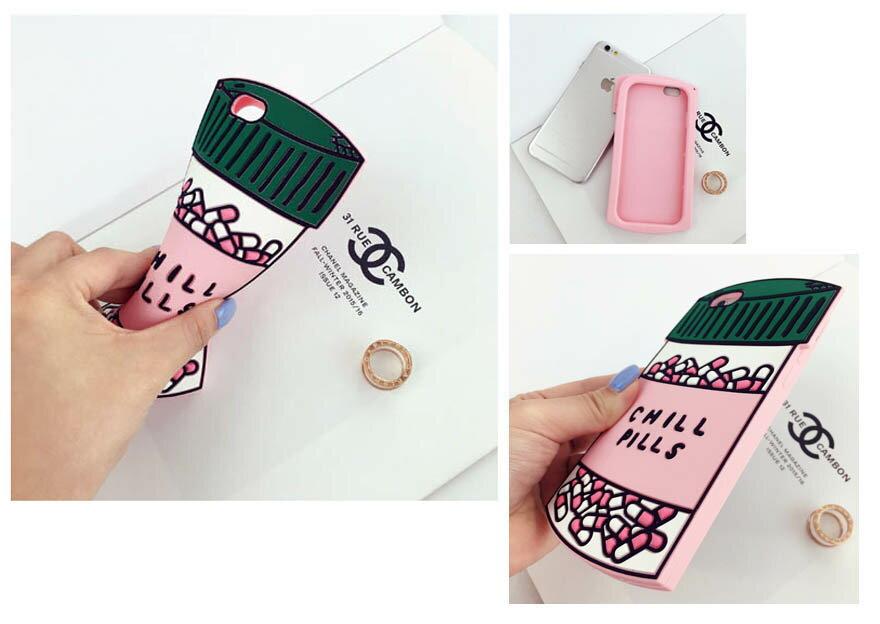 [APPLE]✨藥罐子/愛心款造型手機殼矽膠卡通可愛軟殼✨[I5,ISE/I6,I6S/I6+,I6s+] 6