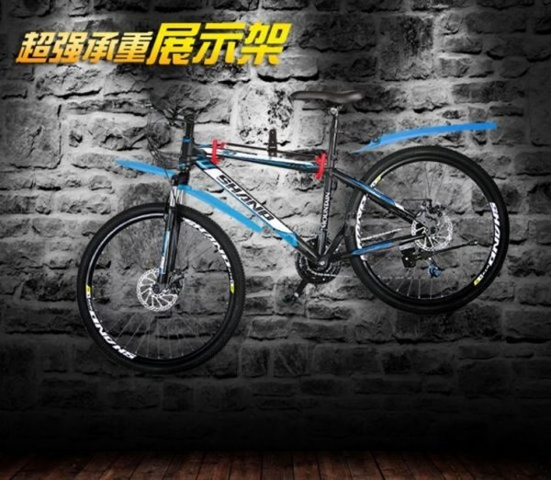 《意生》加大掛勾V型款自行車壁掛架 展示架 掛壁架 掛車架 單車展示架 吊車架 停車架 壁掛架IceToolz