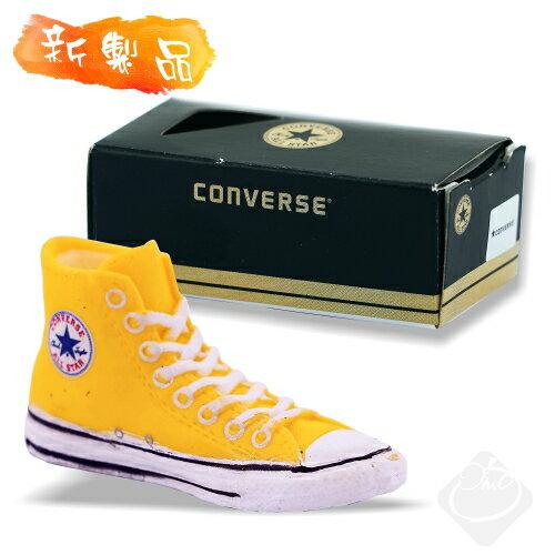 日本【Converse】造型橡皮擦(黃)BH038-90/帆布鞋橡皮擦/高筒帆布鞋/經典鞋款/ALL STAR