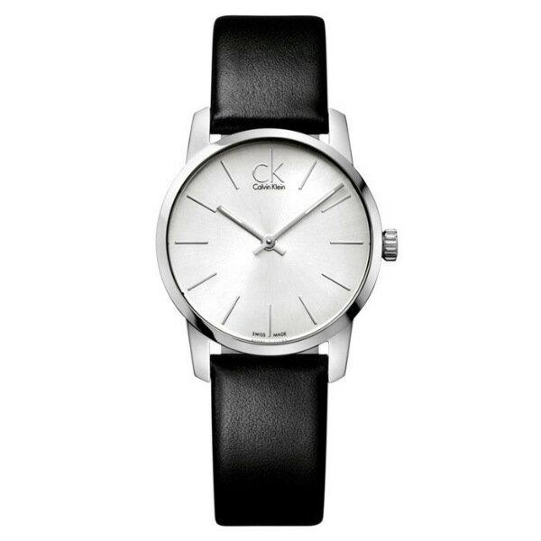 CK CITY(K2G231C6)城市經典簡約腕錶/白面31mm