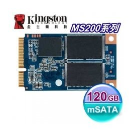 Kingston 金士頓 SSD MS200 120GB【SMS200S3】mSATA介面 固態硬碟