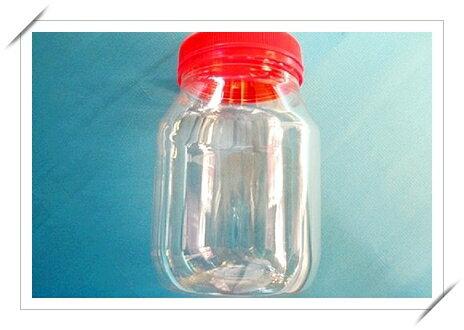 500#空罐 塑料空罐子(紅蓋)/一包12個入