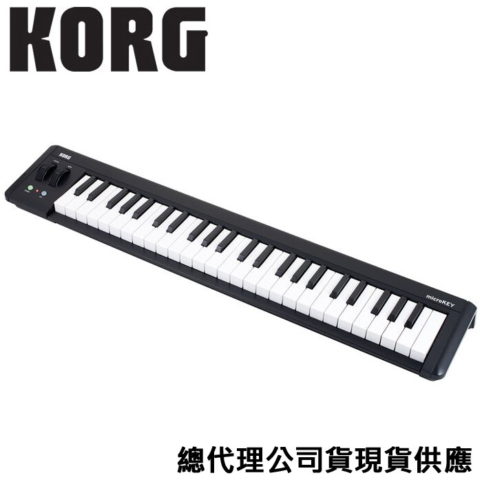 【非凡樂器】『Korg Microkey 2』 主控鍵盤/49鍵/midi keyboard控制器/宅錄打譜編曲最佳拍檔