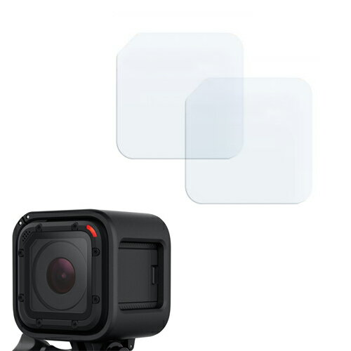 2X PROTECTOR PANTALLA ULTRA CLEAR PARA LENTE GOPRO HERO 4 SESSION 0