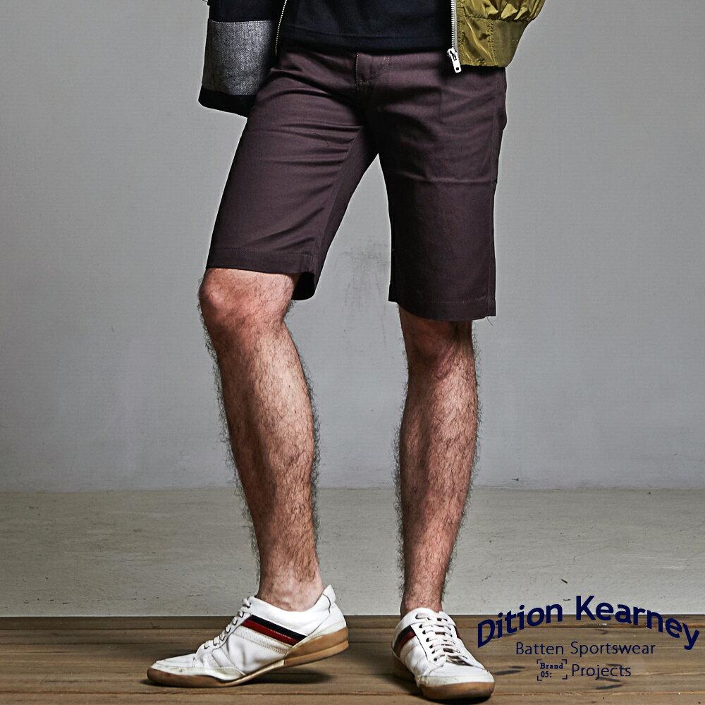 DITION SHOP 美式休閒釘釦素色工作短褲 水洗 經典款有大尺碼 0