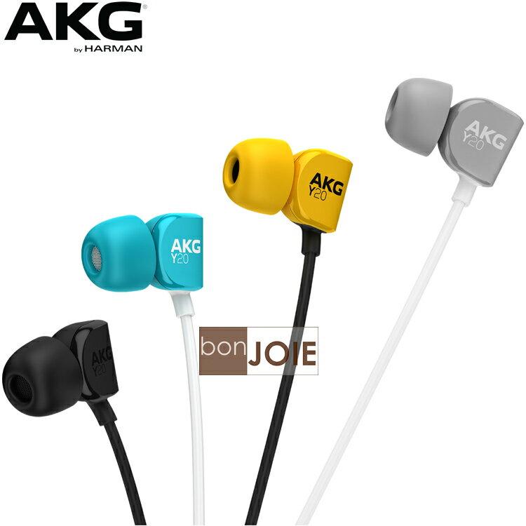 ::bonJOIE:: 日本進口 境內版 AKG Y20U 耳塞式線控耳機 (全新盒裝) 日本版 Y 20U 20 U 入耳式 線控耳機