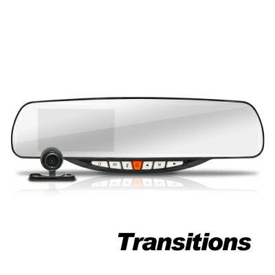 【純米小舖】全視線 G350 聯詠96655 GPS測速 HDR影像 前後雙鏡 後視鏡行車記錄器
