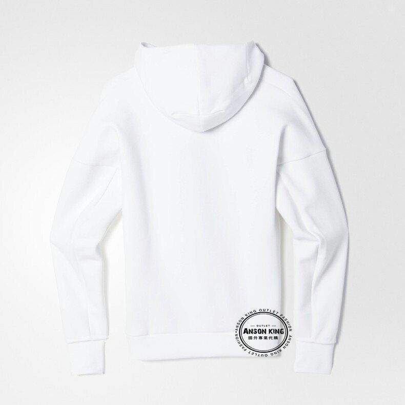 國外代購直送 正品 Adidas Zne Hoodie White 愛迪達 連帽運動休閒外套 彭于晏 貝克漢 baby 2
