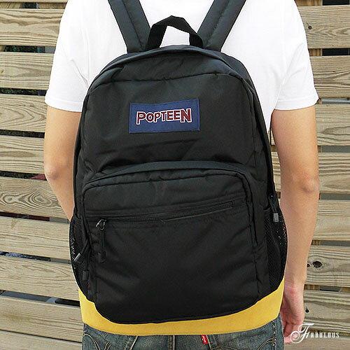 寶貝窩 Blue`s【HX4008】簡單生活街頭風素面百搭空氣感多口袋大容量後背包
