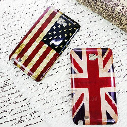 寶貝窩  Exquisite【KF15032】韓國直送歐美風經典懷舊復古刷色英國美國國旗手機殼  iPhone、S2、S3、Note